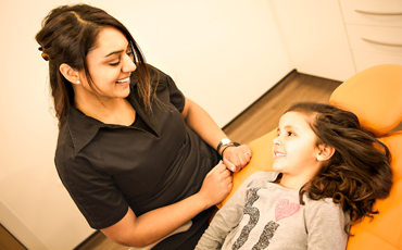 Hetal treating a patient
